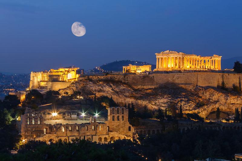 acropolis grecia atenas